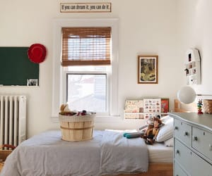bedroom, interior decorating, and farmhouse style image