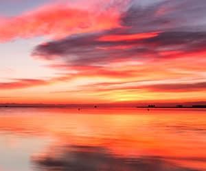 landscape, colors, and sky image