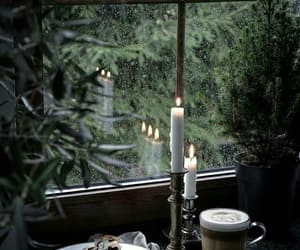 candle, cozy, and photography image