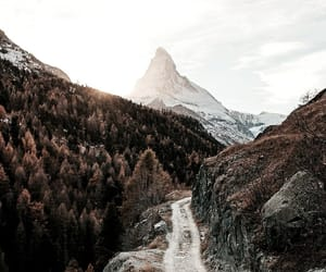 mountains, nature, and autumn image
