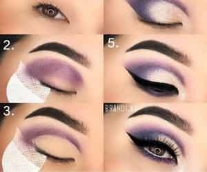 makeup, tutorials, and makeuptuto image