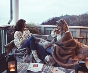 cozy, winter, and friendship image