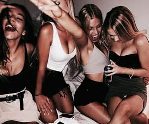 friendship, girls, and party image