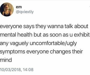 mental health, mental illness, and symptoms image