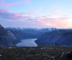 beautiful, fjord, and hike image
