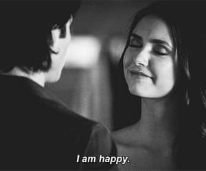 delena, gif, and the vampire diaries image