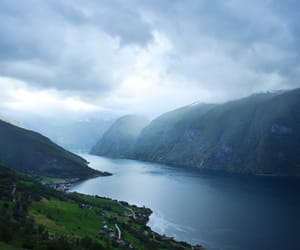 beautiful, fjord, and hiking image