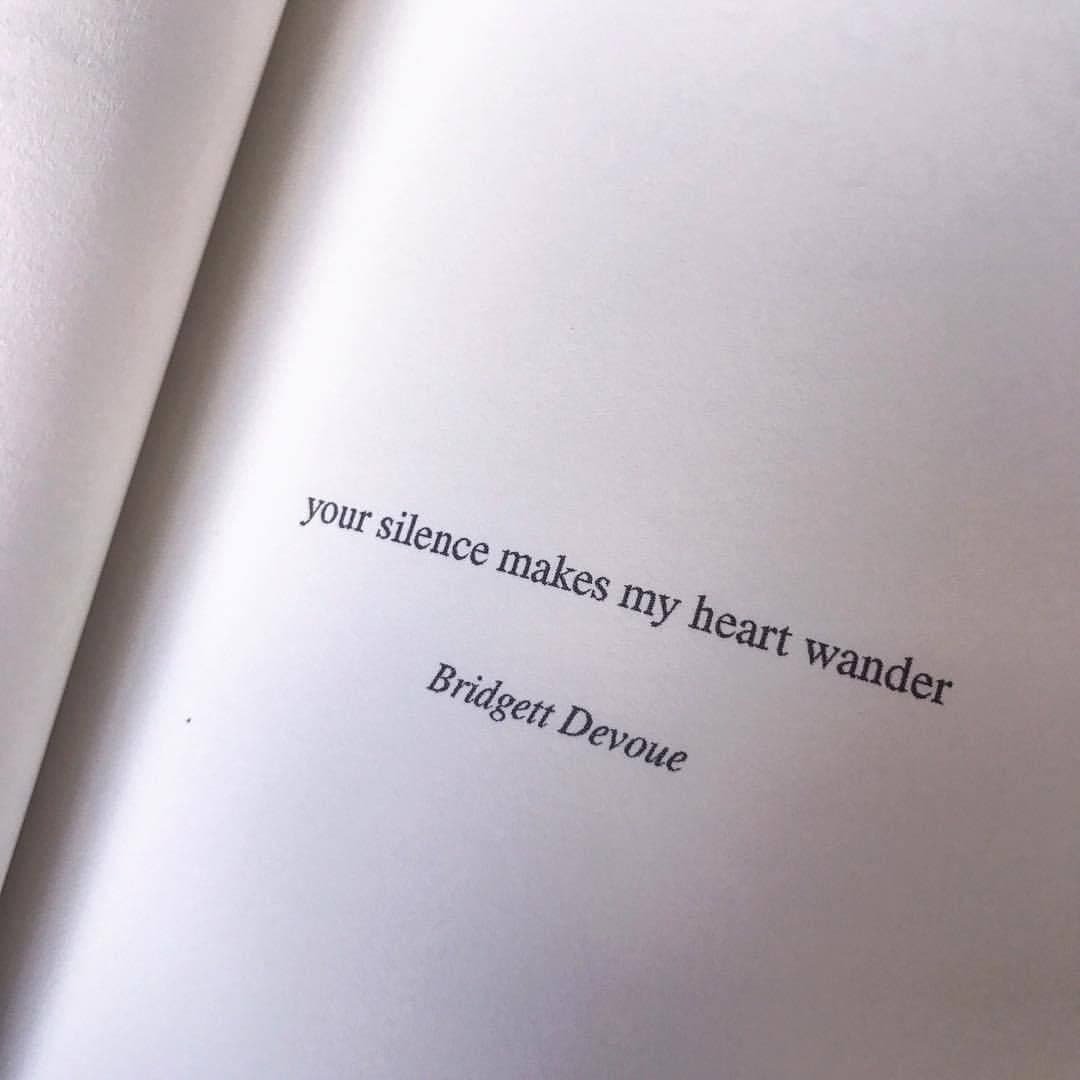book, quotes, and silence image