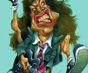 ACDC, caricature, and humor image