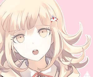 anime, danganronpa, and nanami chiaki image