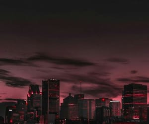 city, ominous, and travel image