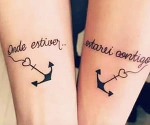 friendship, ink, and tattoo image