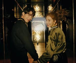 couple, lee dong wook, and yoo in na image