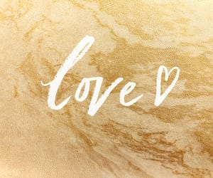 gold, heart, and marble image