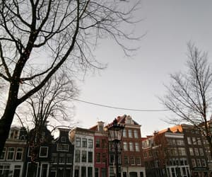amsterdam, canal, and city image