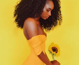 yellow, melanin, and beautiful image