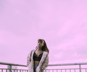 clouds, grey, and arianagrande image