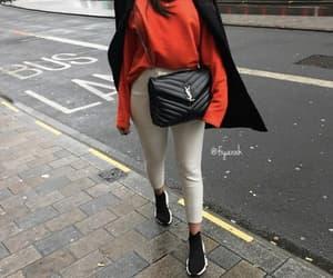 Balenciaga, fashion, and red image