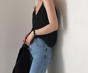 clothes, fashion, and korean girl image