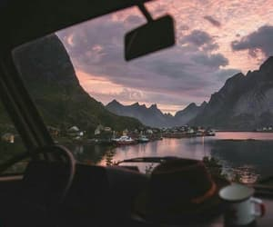 sky, car, and nature image
