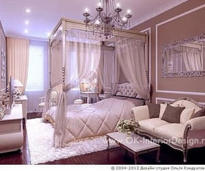 bedroom, living, and luxury image