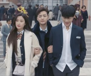 friendship, gif, and kdrama image