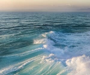 beaches, ocean, and waves image
