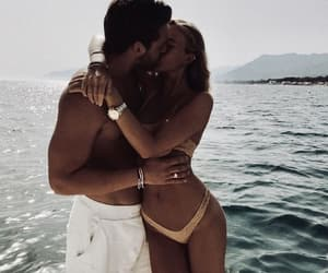 couple, goals, and vacation image