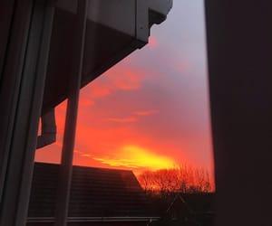 aesthetic, sunrise, and sunset image