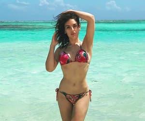 beach, bikini, and br image