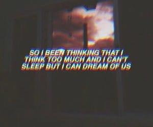 Dream, sleep, and sad image
