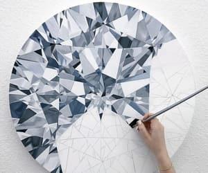 art, diamond, and inspiration image