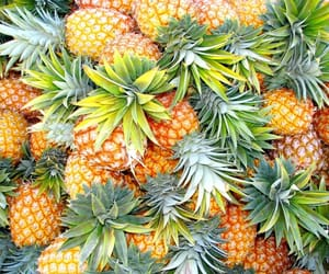 pineapples and food image