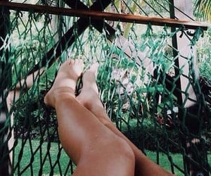 green, jungle, and relax image