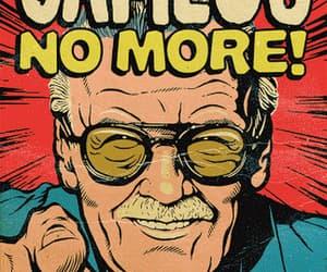 gif, stan lee, and marvel comics image