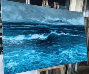 gif, art, and ocean image