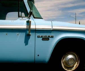 blue, cars, and street photography image