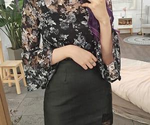 asian fashion, blouse, and kfashion image