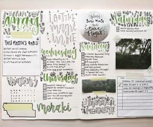 bullet, lettering, and bullet journal image