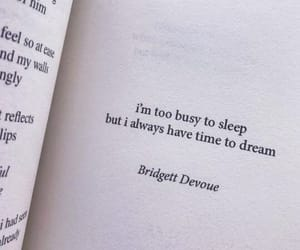dreaming, sleeping, and too busy image