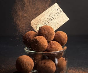 chocolate, junk food, and truffles image