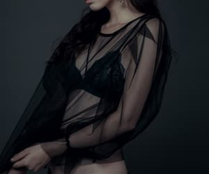 dark, goth, and black image