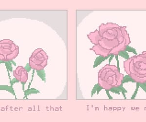 aesthetic, quotes, and pink image