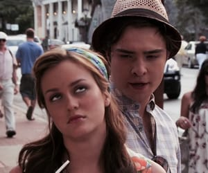 gossip girl, blair and chuck, and filtered image
