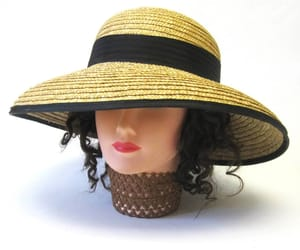 50s, floppy hat, and ladies fashion image