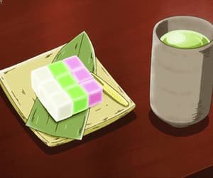 tea and anime food image