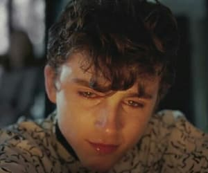 crying, sad, and call me by your name image