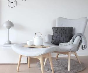 Blanc, maison, and décoration image