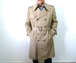 etsy, rain coat, and trench coat image