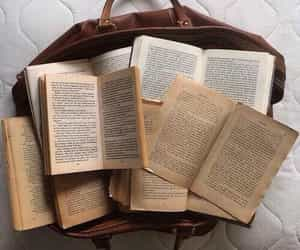 aesthetics, brown, and books image